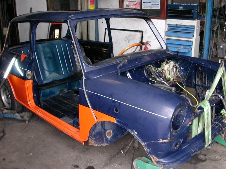 restauration-automobile-peinture-carrosserie-garage-bassin-arcachon-mini-austin-14